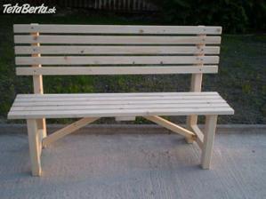 jednoduchá lavička