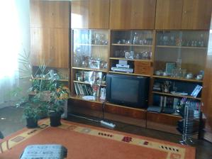 pôvodná obývačka...