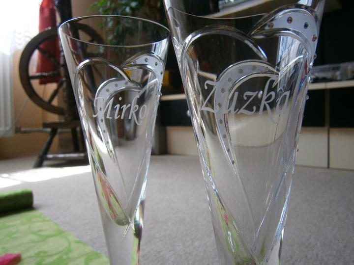 Tak toto už máme... - Moje úžasné krištálové poháre