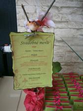 svadobné menu. moja tvorba