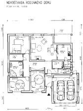 projekt - namiesto dvojgaráže je klasická garáž