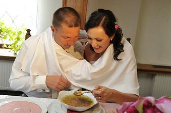 První manželská polévka