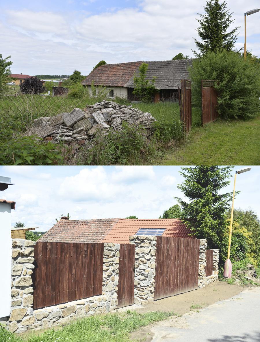 ..our rustic cottage.. - rok se s rokem sešel a z rezatých vrat je kamenná brána