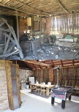 srovnávací - stodola uvnitř