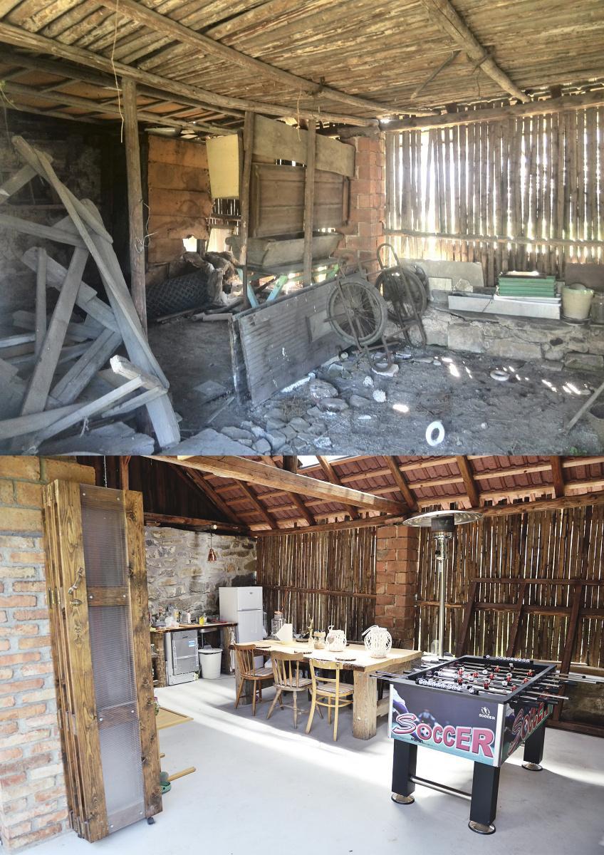 ..our rustic cottage.. - srovnávací - stodola uvnitř