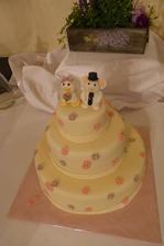 Svatební dortík - Kachna a Mišák :)