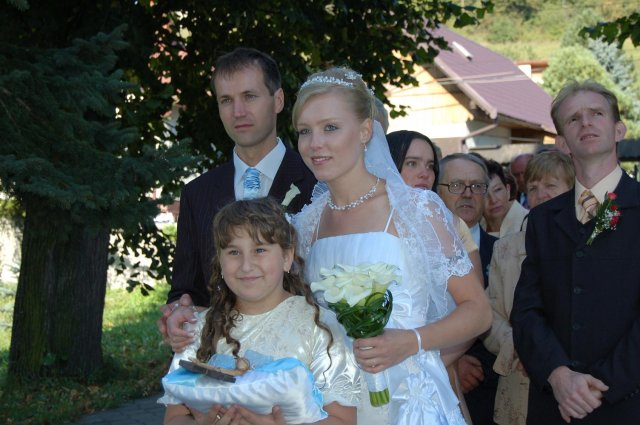 Lenka Karetková{{_AND_}}Libor Florek - foto s Veronikou