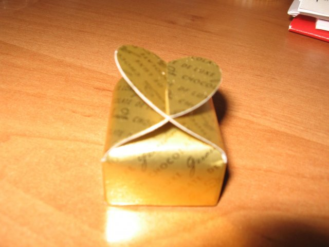Lienocka a Petrík - krabička na čokoládku