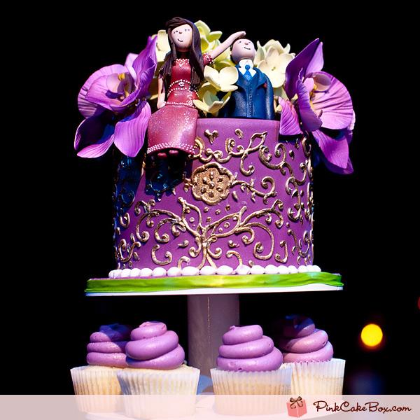 Svatební inspirace - ta fialová a na tom ty ornamenty... aaaa