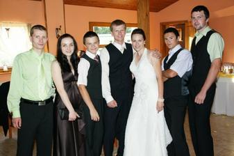 zenichov brat a coskoro svagrinka:) no a moji traja bratia :)