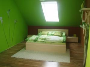 naše veselá ložnice:-)máme rádi prostě barvy.....:-)