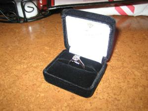 a tak som dostala svoj prvy diamant