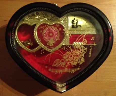 Hracia skrinka na šperky - Obrázok č. 1