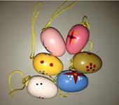 Drevené vajíčka,