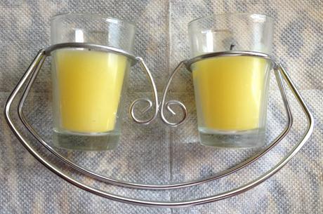Stojan s 2 sviečkami - Obrázok č. 1