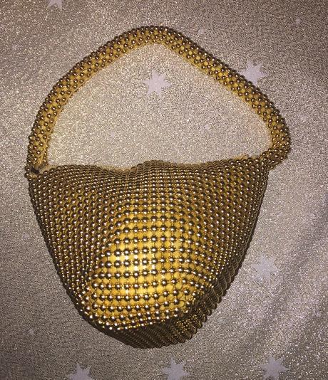Zlatá spoločenská kabelka - Obrázok č. 2