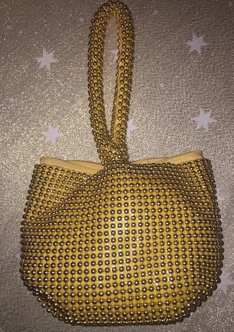 Zlatá spoločenská kabelka - Obrázok č. 3