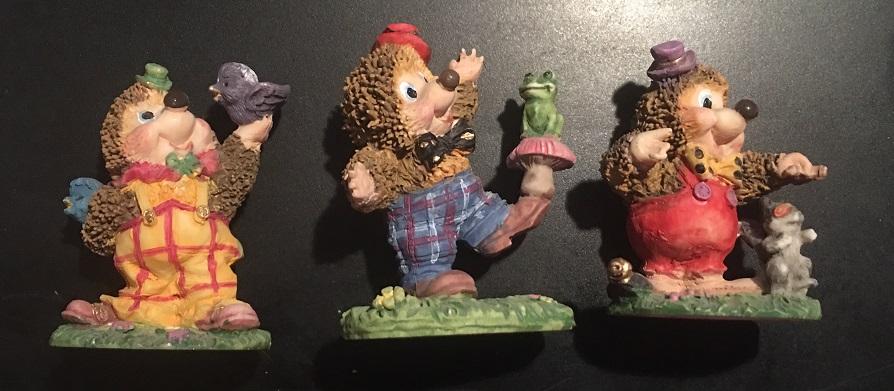 Traja ježkovia - Obrázok č. 1