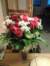 tu jsem motala sama :)))) ze 17 růží...