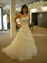Šaty č. 1 - Adina (Dara 38 bílé) - Mé Favoritky