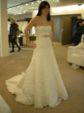 šaty č.3 - Adina (Udine Pronovias 36 bílé)