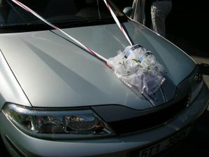 nevěstino auto