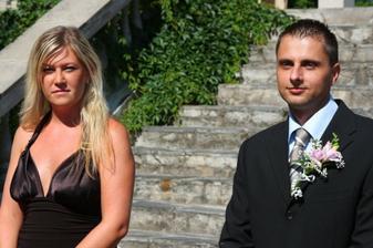 svědkyně a svědek ..:-) svítilo jim sluníčko .. :-)