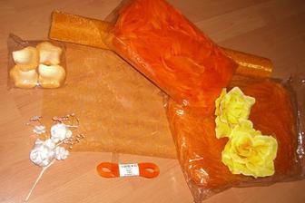 Orange výzdoba :-)