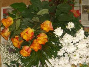 Kytky na kytici