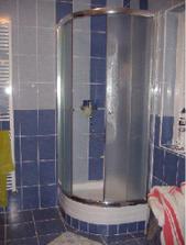 ... aj sprchový kút. Ten využívame najviac.