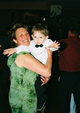 maminka moja a krsniatko Tinenko