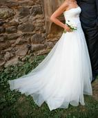 Svatební šaty, krémové, 36-40, 38