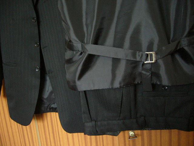 oblek s vestou + motylik - Obrázok č. 3