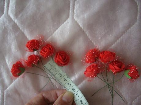 penove ružičky 10ks - Obrázok č. 1