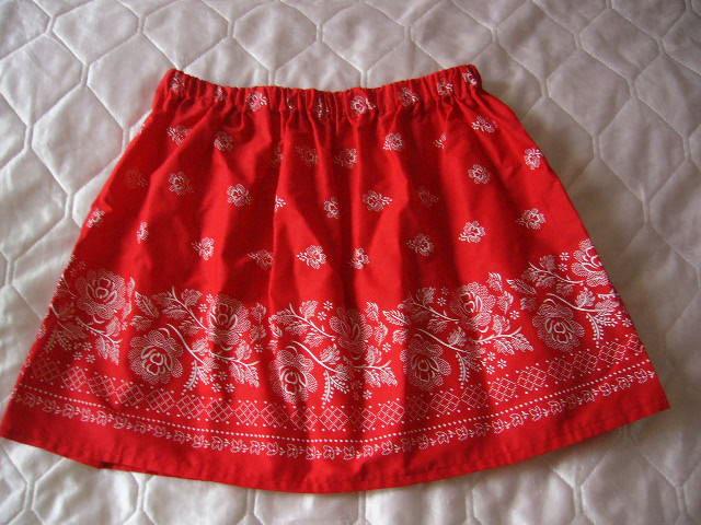 bavlnena sukňa s ludovym vzorom - Obrázok č. 1