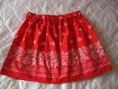 bavlnena sukňa s ludovym vzorom, M