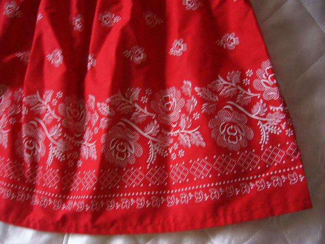 bavlnena sukňa s ludovym vzorom - Obrázok č. 2