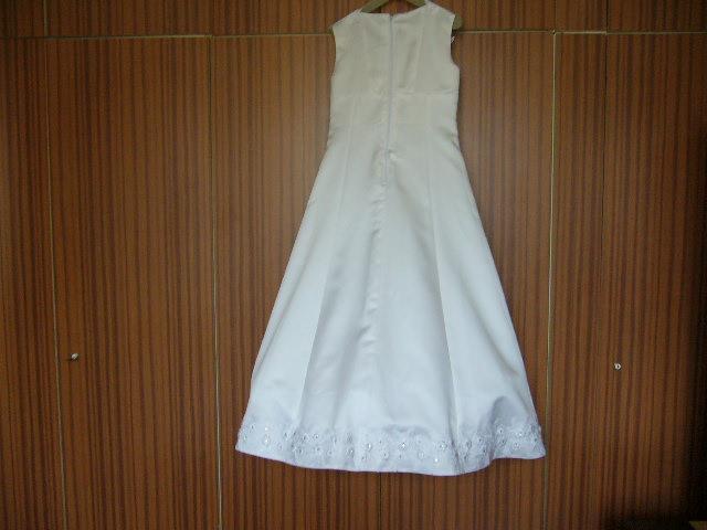 šaty na 1.sv.prijimanie 8-9r. - Obrázok č. 2