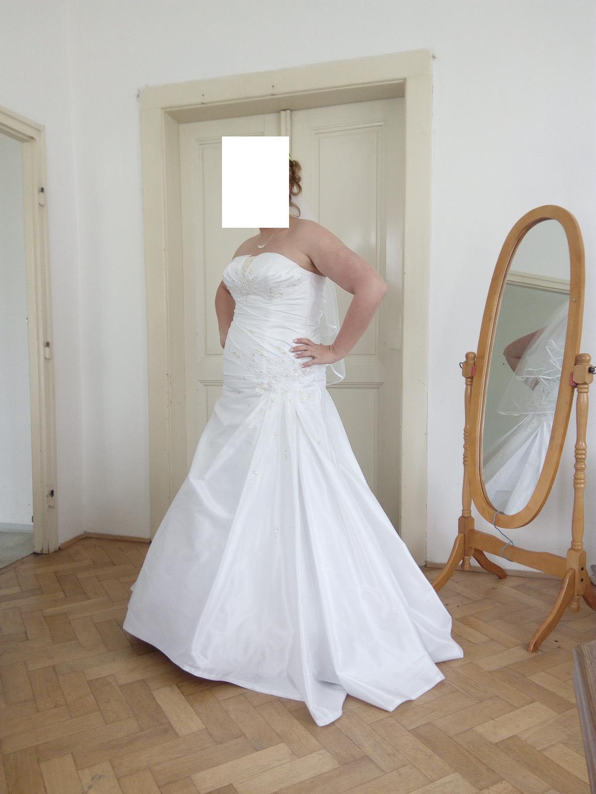 Korzetové šaty velikost 42-46 - Obrázek č. 1