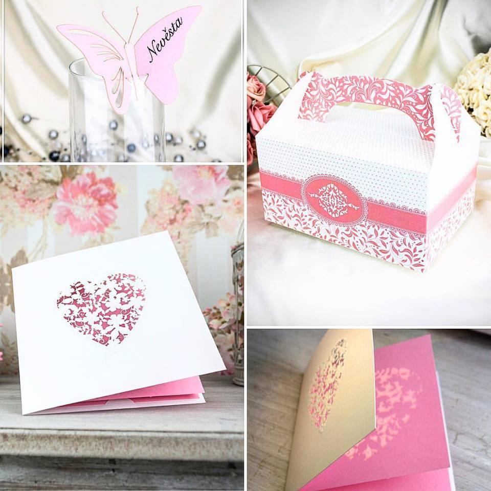 Svatební oznámení, tiskoviny a krabičky - Svatební doplňky s.r.o.