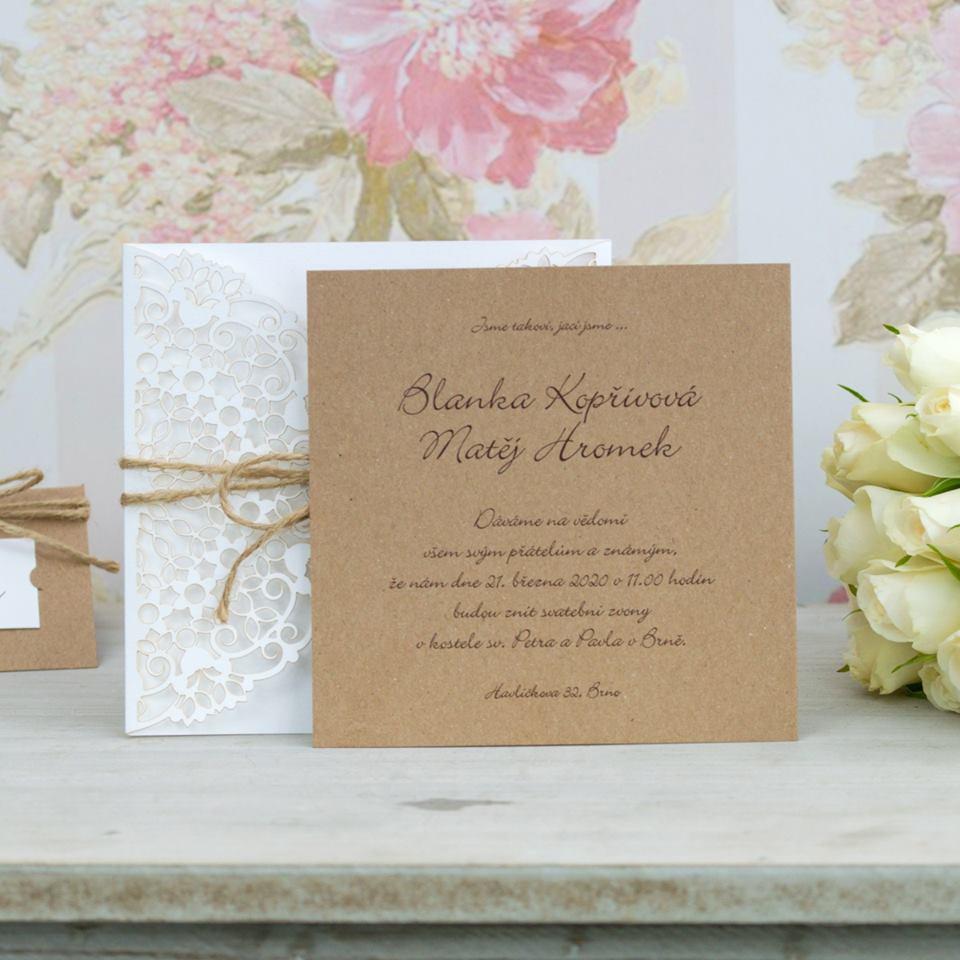Svatební oznámení, tiskoviny a krabičky - Obrázek č. 20