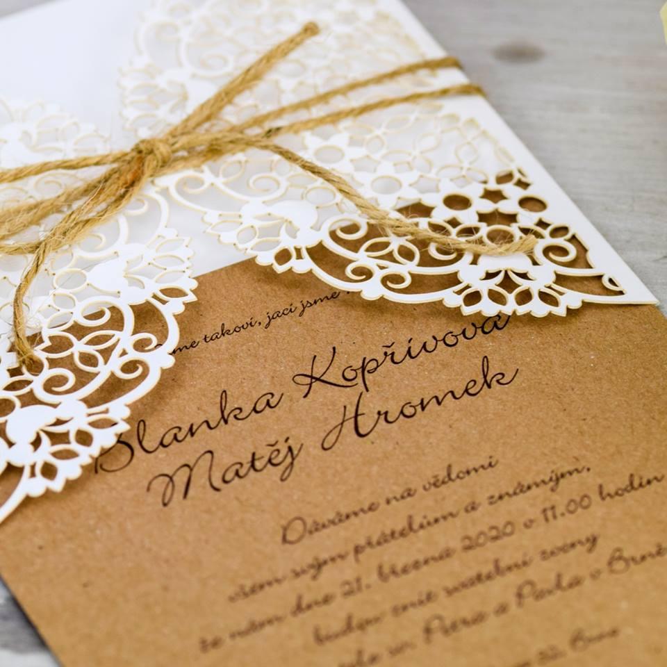 Svatební oznámení, tiskoviny a krabičky - Obrázek č. 21