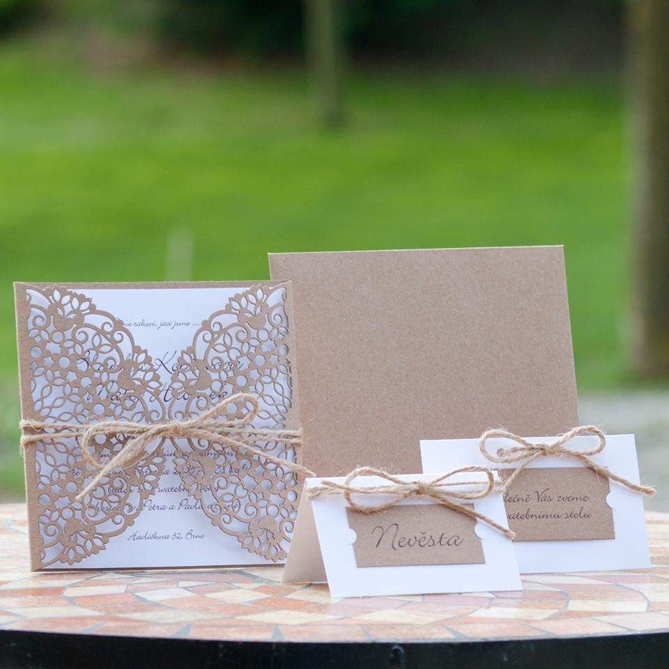 Svatební oznámení, tiskoviny a krabičky - Obrázek č. 26