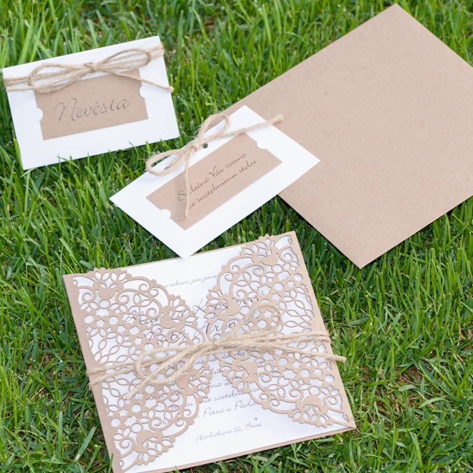 Svatební oznámení, tiskoviny a krabičky - Obrázek č. 28