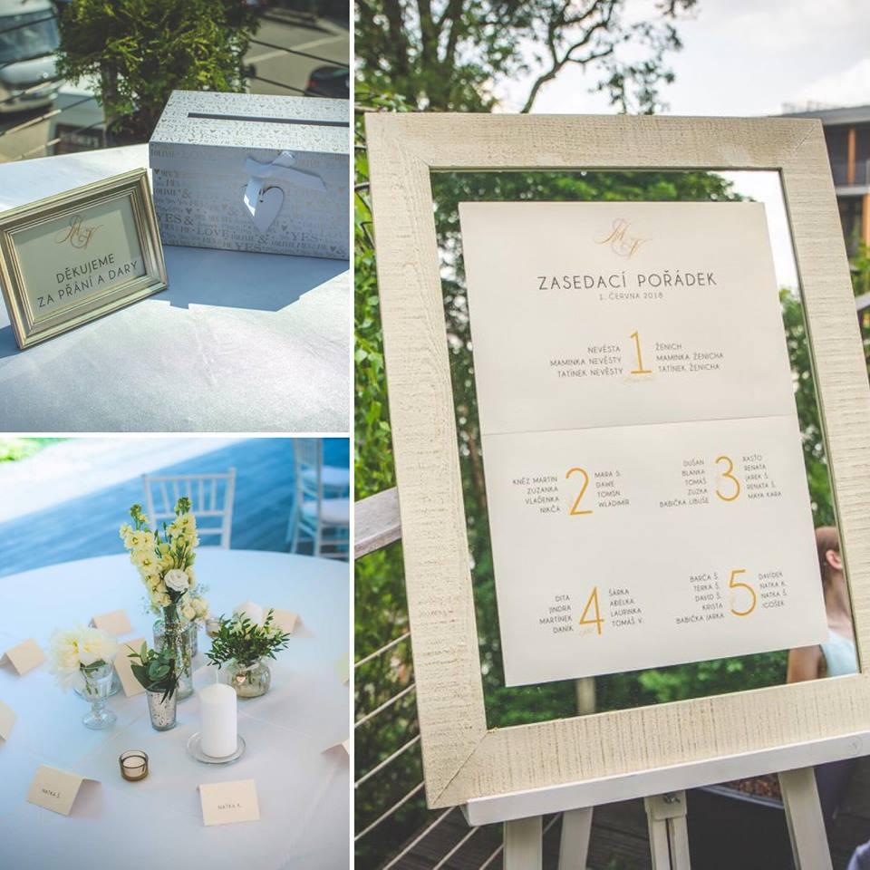 Svatební oznámení, tiskoviny a krabičky - Obrázek č. 29