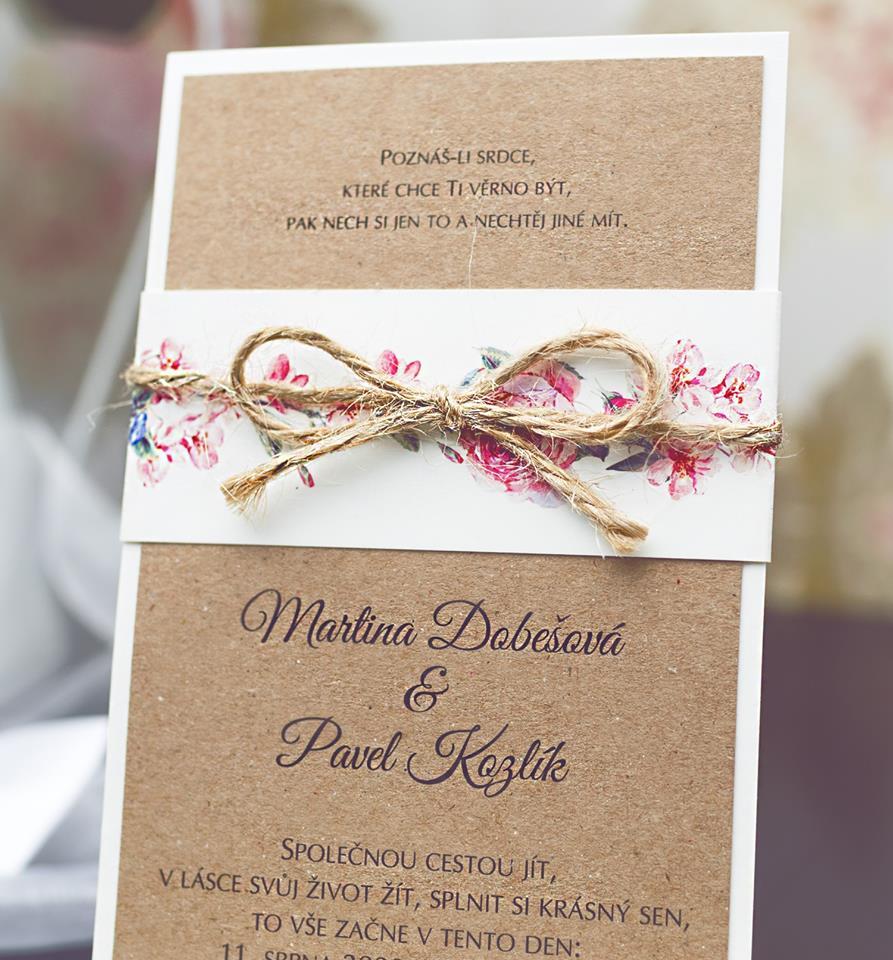 Svatební oznámení, tiskoviny a krabičky - Obrázek č. 30