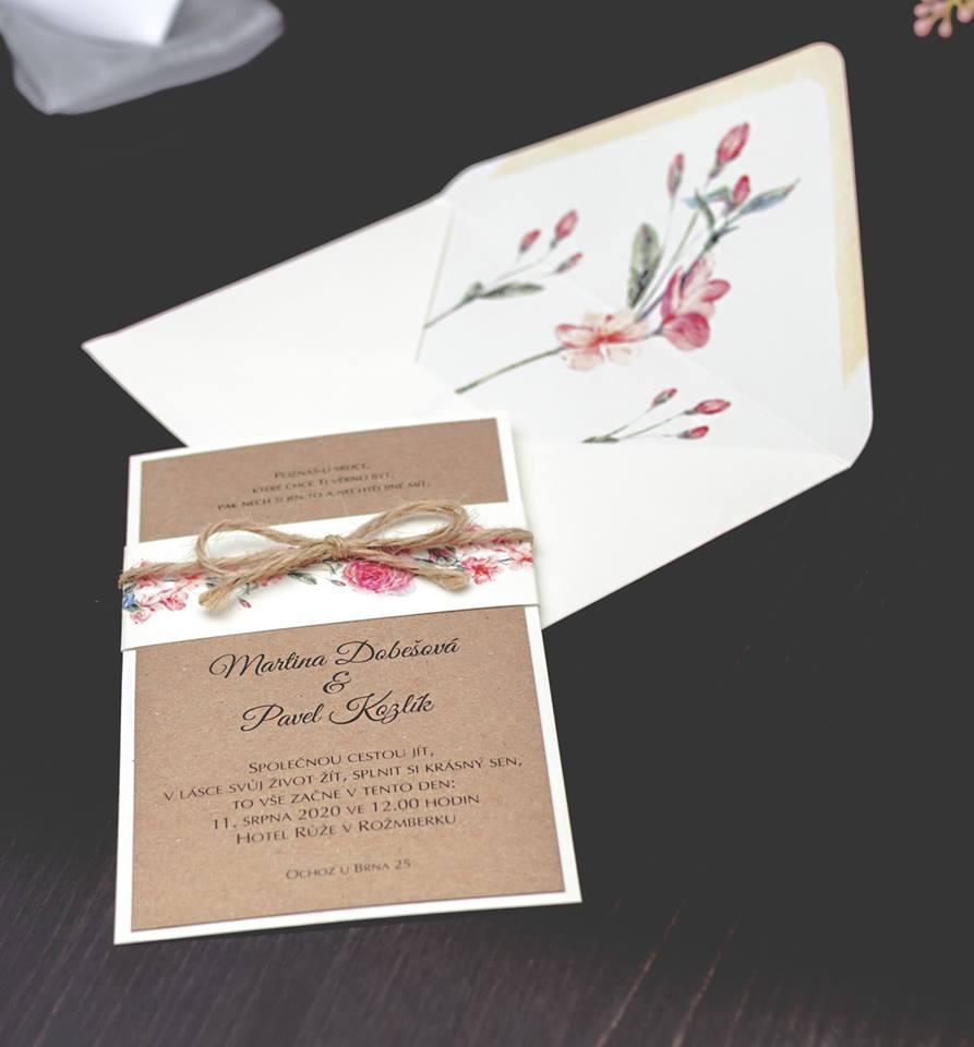 Svatební oznámení, tiskoviny a krabičky - Obrázek č. 33
