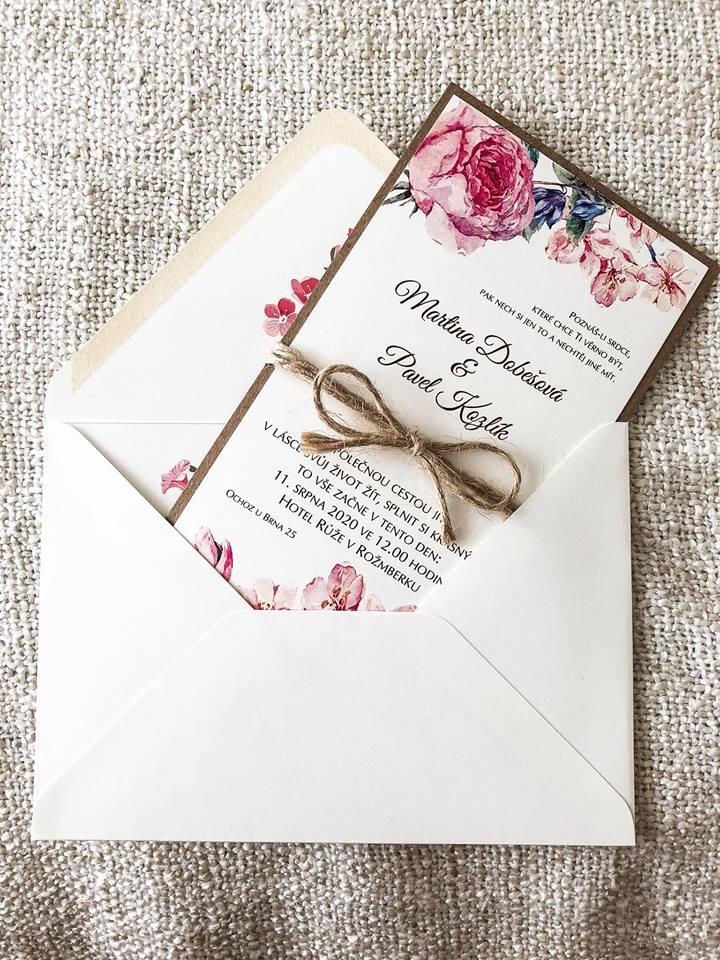 Svatební oznámení, tiskoviny a krabičky - Obrázek č. 39