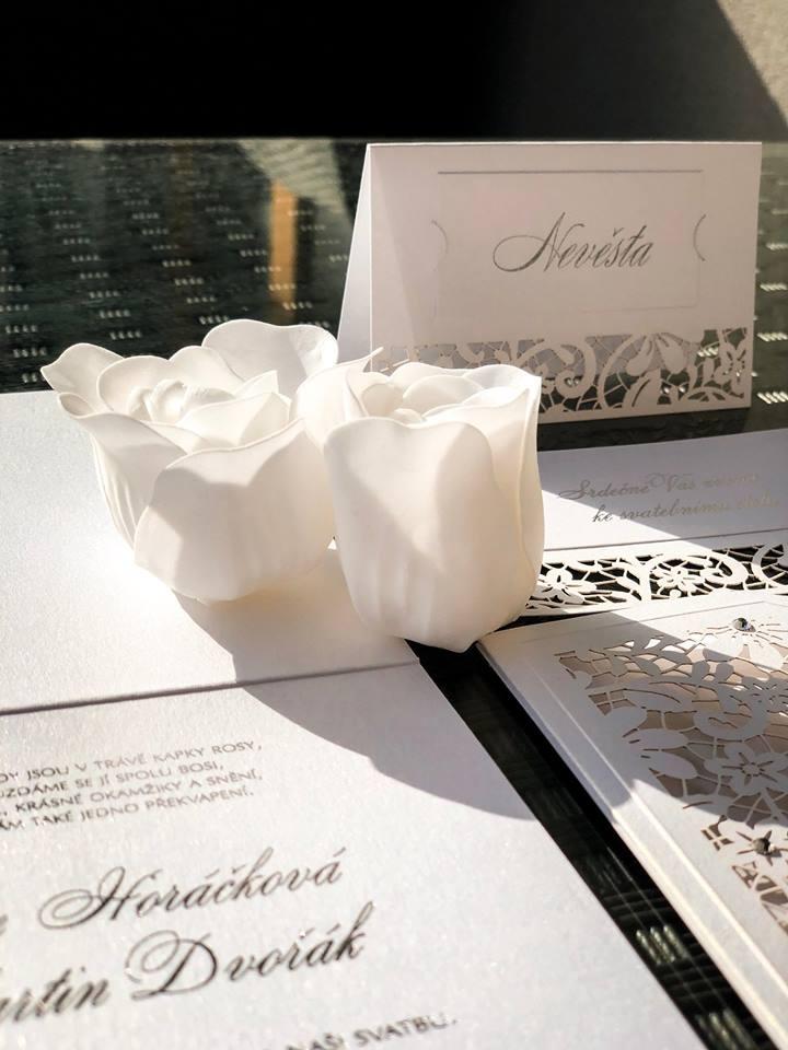 Svatební oznámení, tiskoviny a krabičky - Obrázek č. 42