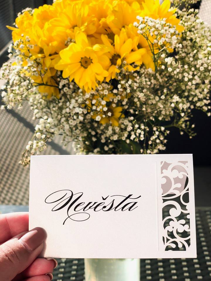 Svatební oznámení, tiskoviny a krabičky - Obrázek č. 43